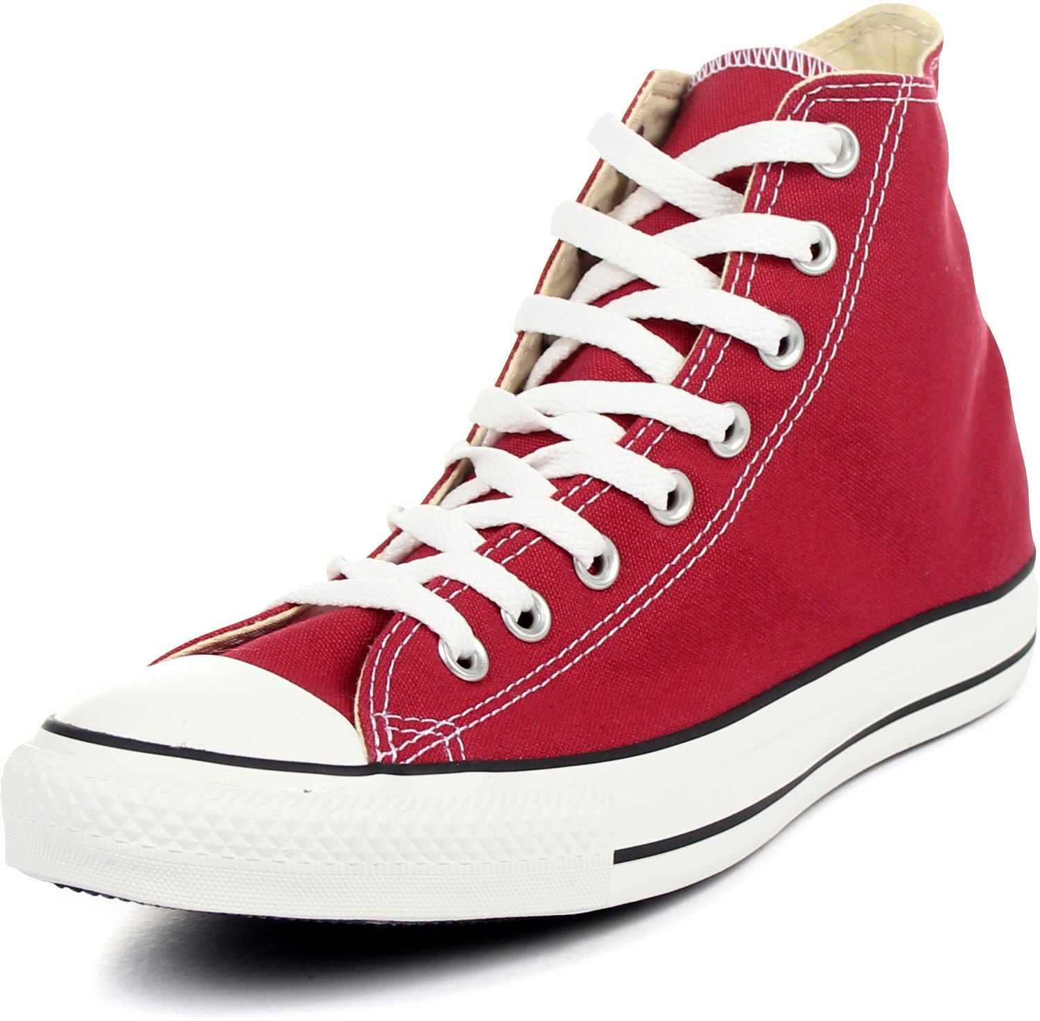 7d781640d2bbf0 Galleon - Converse Unisex Chuck Taylor Classic Hi Jester Red Sneaker - 11  Men - 13 Women