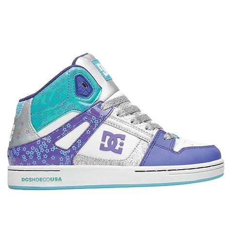 88f6c46ce3 DC Rebound Skate Shoe (Little Kid/Big Kid)