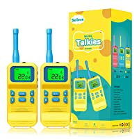 Selieve Walkie Talkies for Kids Toys for 5-8 Year Old Boys, 22 Channels 2 Way Radios 3 KMs Long Range with Backlit LCD Flashlight for Indoor Outside Games, Christmas Birthday Gifts for Kids
