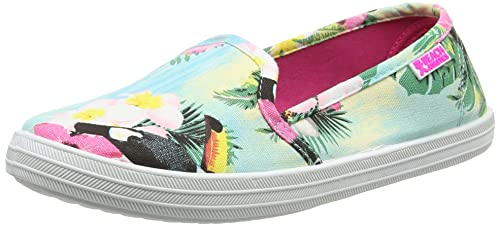 Bedroom Athletics Troia - Zapatillas para Mujer, color rosa (pink flamingo), talla 38: Amazon.es: Zapatos y complementos