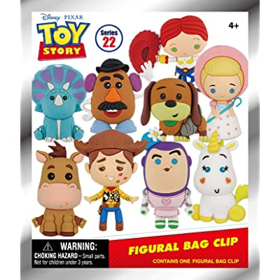 Disney Toy Story Classic - 3D Foam Collectible Bag Clip in a Blind Bag, Multi Color: Toys & Games