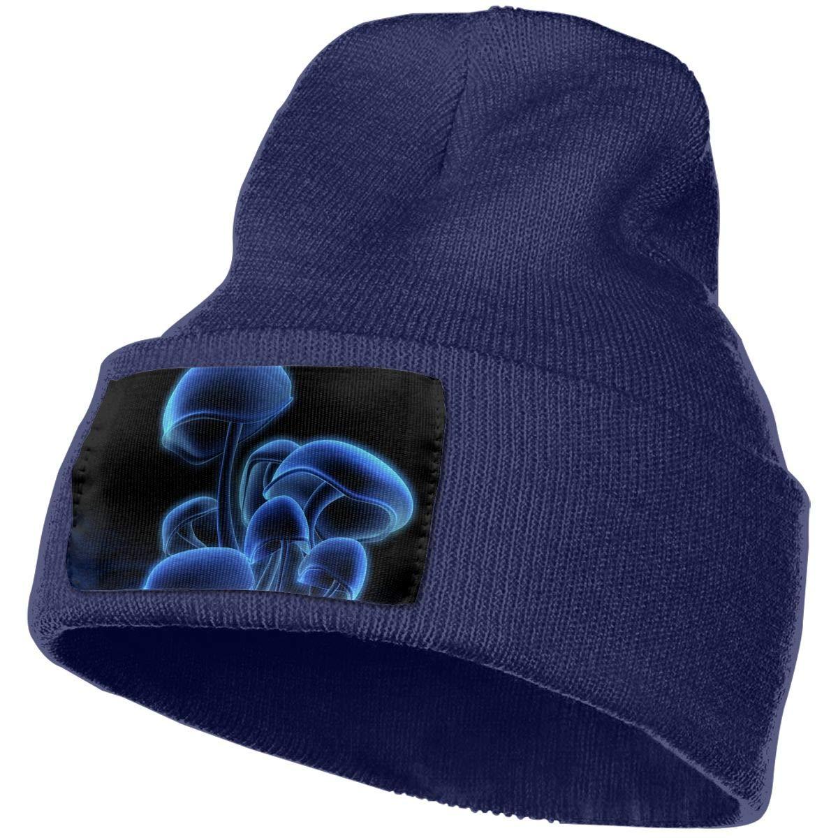Helidoud Cool Magic Mushrooms Winter Beanie Hat Knit Skull Cap for for Men /& Women