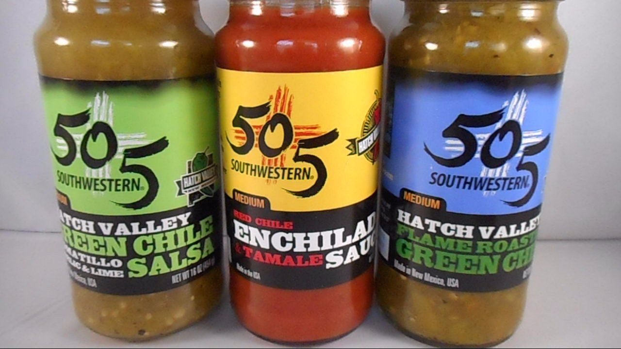 505 Southwestern Variety Pack of 3 (1 of each: Roasted Green Chile, Red Enchilada Sauce, and Green Chile Tomatillo Salsa