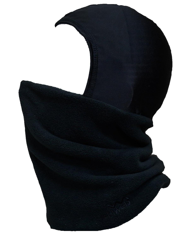Adultos - Pasamontañas de esquí cálido forro polar con tubo de cuello de seda cabeza cubierta: Amazon.es: Deportes y aire libre