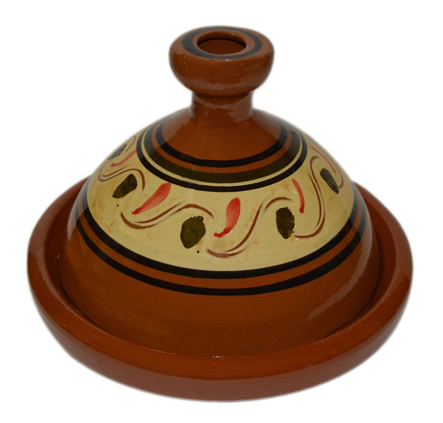 Moroccan Medium Simple Cooking Tagine Lead Free