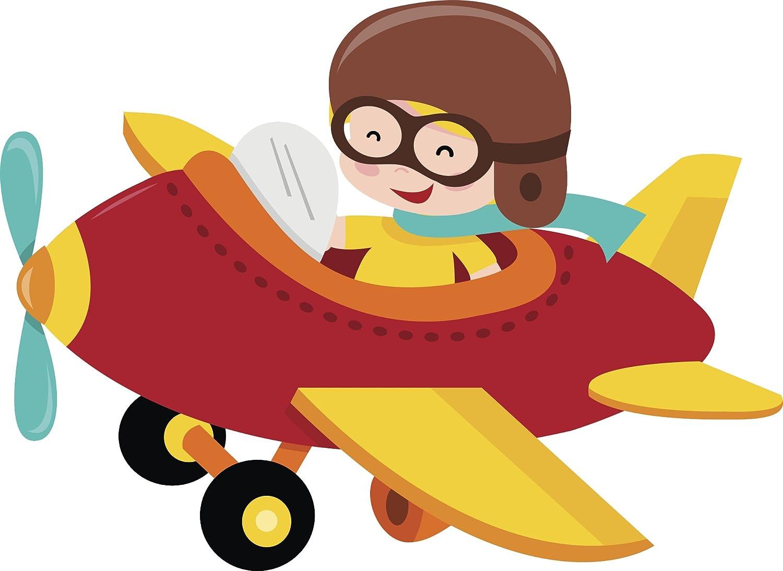 Amazon Com Divine Designs Cute Little Boy Kid In Red Airplane
