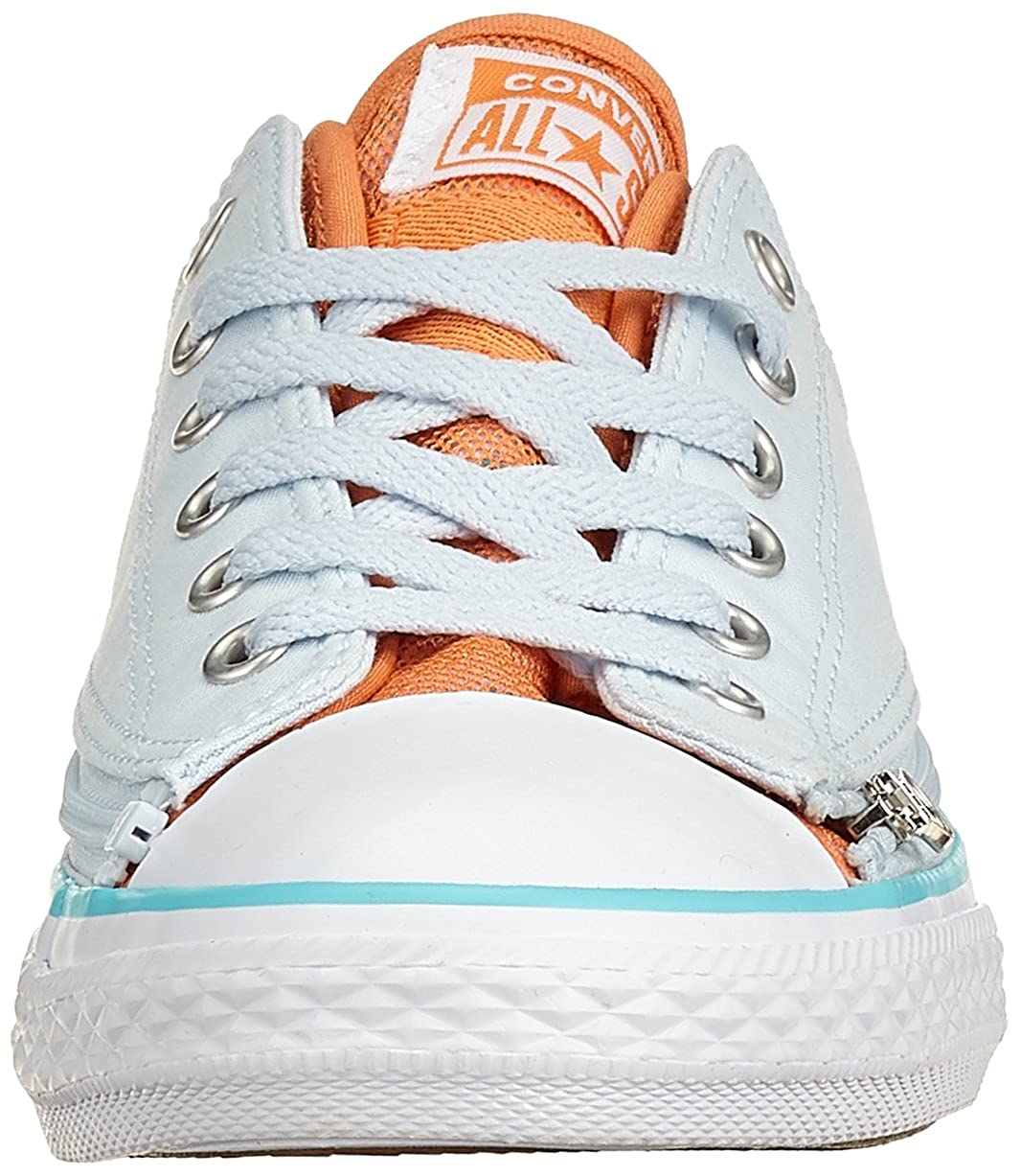 cb7c27ddc72f Converse Unisex Kids  CTAS Zip Star Ox Blue Tint Nectarine Trainers   Amazon.co.uk  Shoes   Bags
