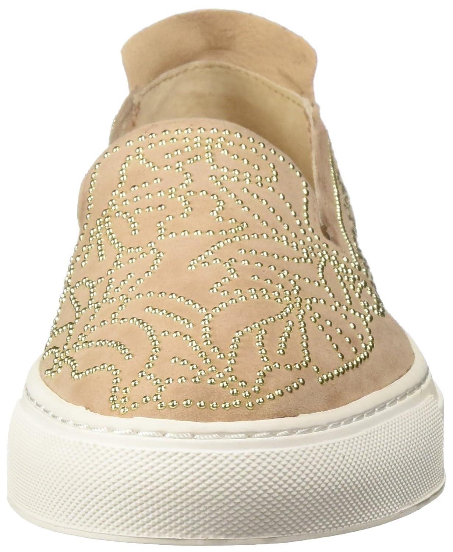 Rachel Zoe Women's Burke Studs Sneaker B078DDZL2D 5 B(M) US|Fawn