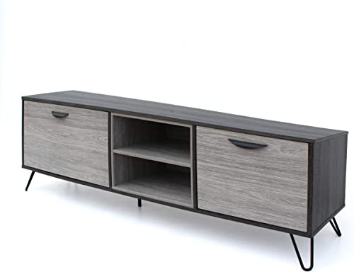 Christopher Knight Home Isadora Mid-Century Modern Faux Wood TV Stand