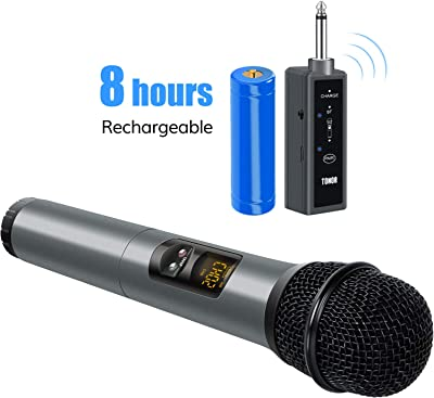 side facing tonor uhf wireless microphone