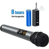 TONOR Micrófono Bluetooth Inalámbrico 10 Canales Portátiles UHF