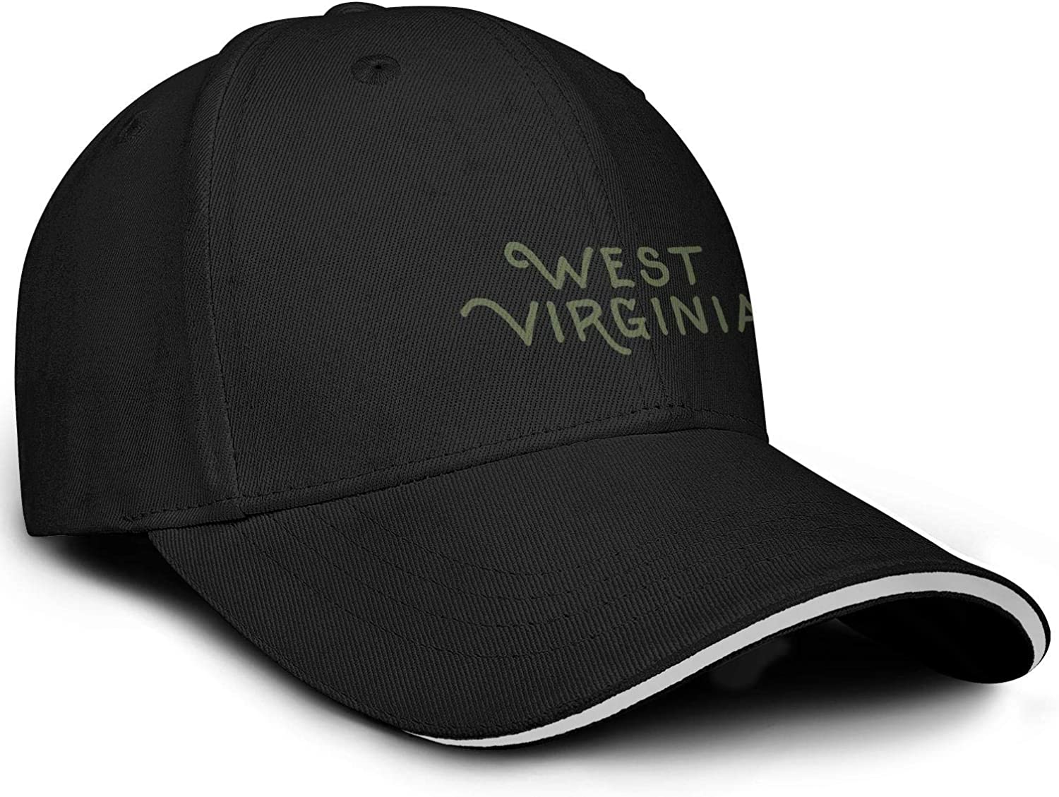 TylerLiu Baseball Cap West Virginia Snapbacks Truker Hats Unisex Adjustable Fashion Cap