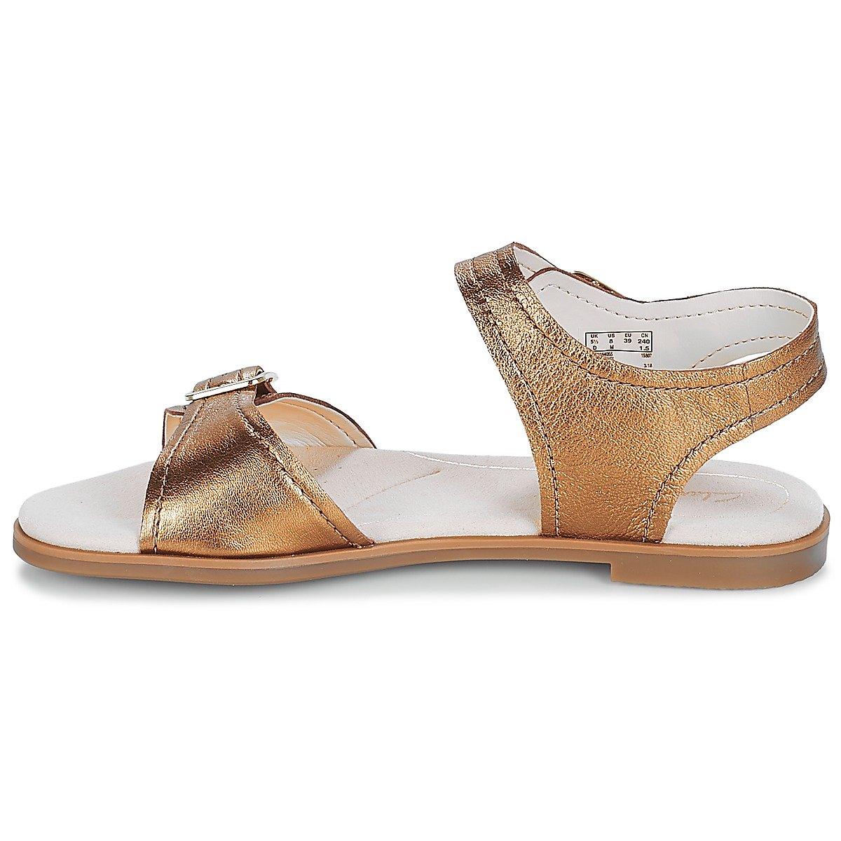 Clarks Metallic Bay Primrose - Bronze Metallic Clarks Bronze / Metallic c0e35d