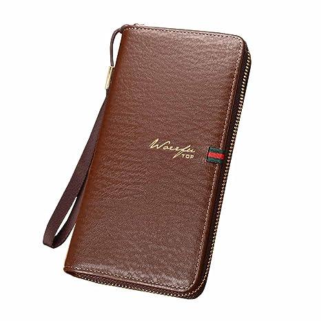 Fessure Per Carte Di Credito Con Portafogli In Pelle Alta Qualità Da Uomo  AAA Porta Documenti 0949ef30560