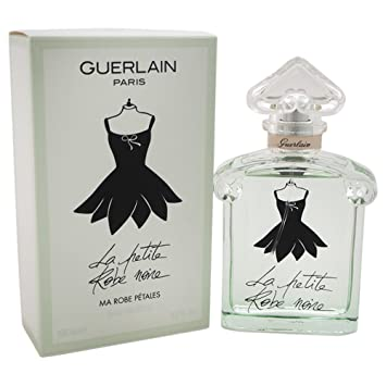 1fb596bb6b9 Amazon.com  Guerlain La Petite Noire Ma Robe Petales Eau Fraiche EDT Spray  for Women
