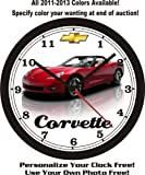 2012-2013 CHEVROLET CORVETTE WALL CLOCK-FREE USA SHIP!