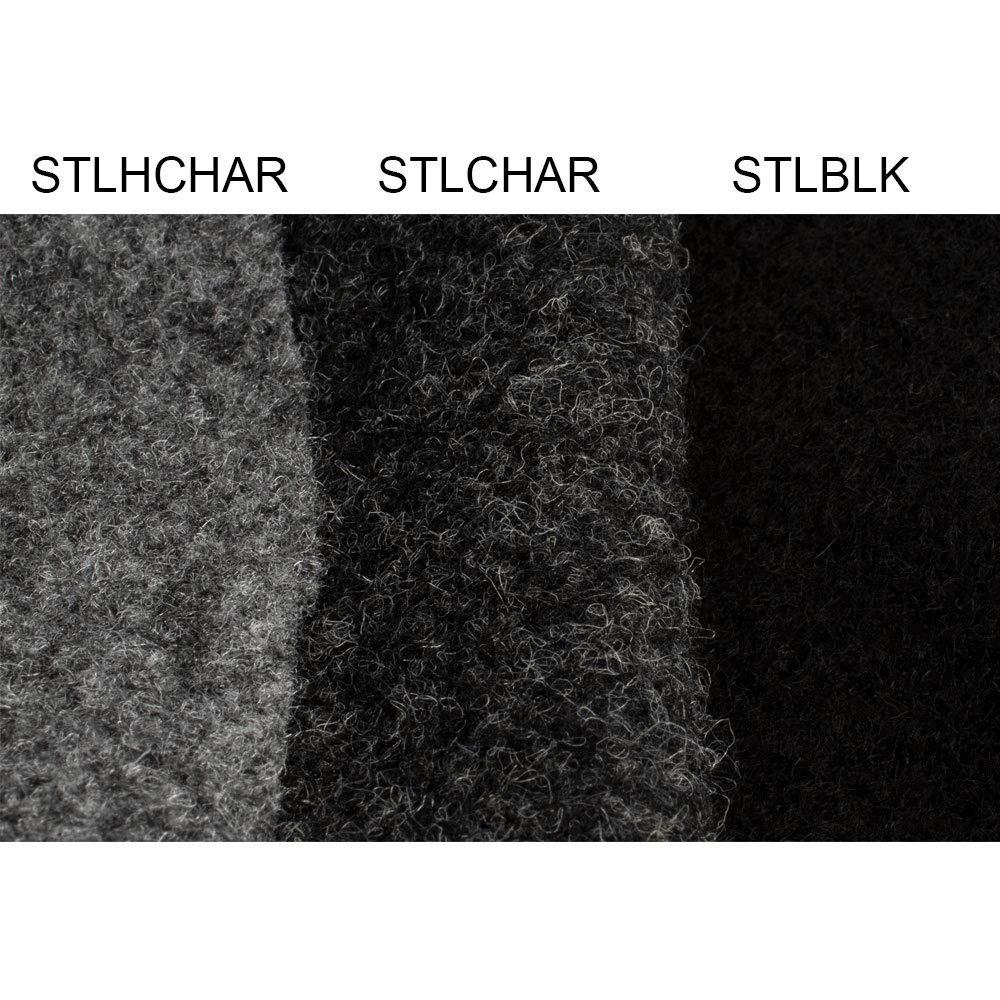 7,99/€//m/² Stinger STLCHAR 5Y kleine Rolle 4,57m // 6,26m/² Bespannstoff dunkelgrauer Bezugsstoff Moquette