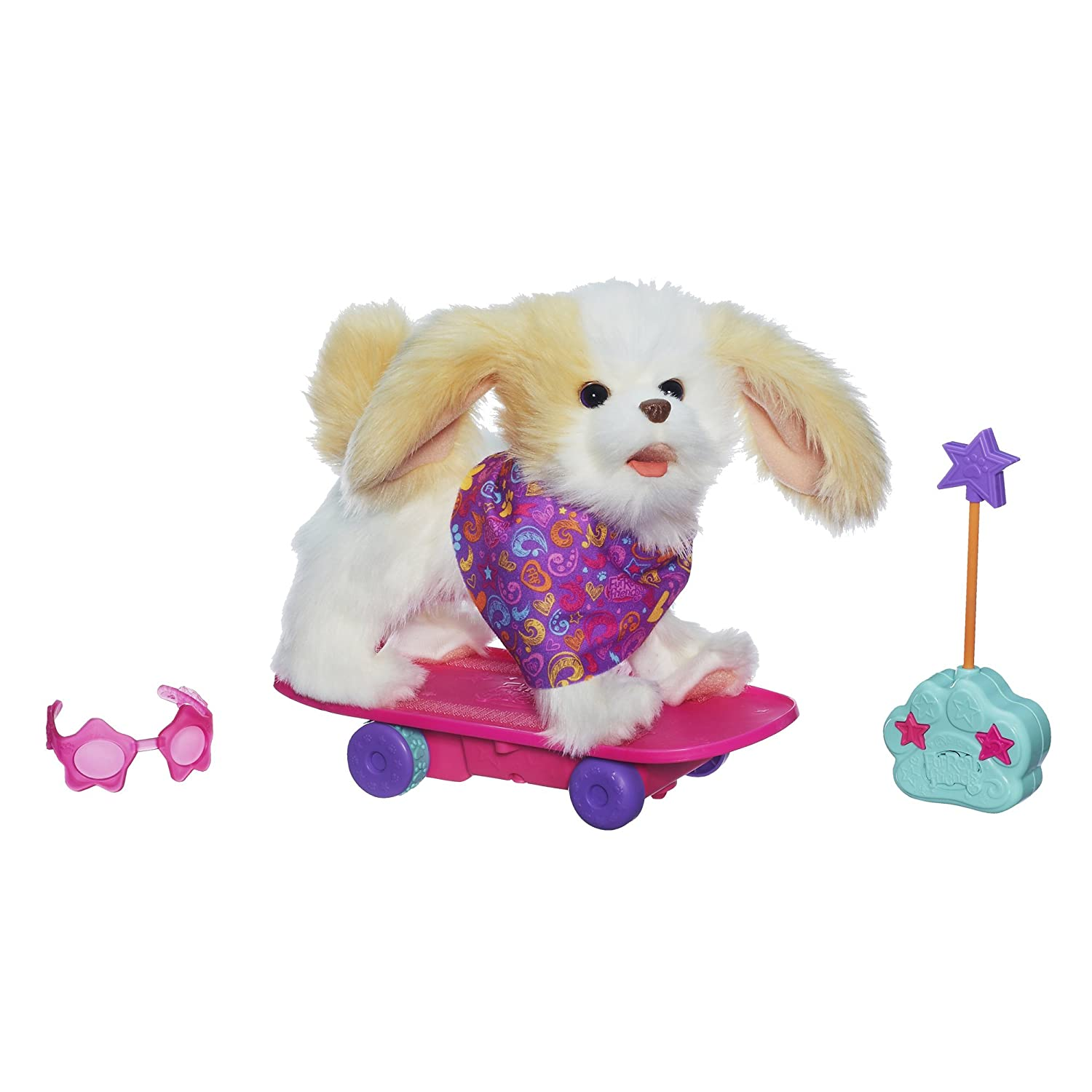 Amazon FurReal Friends Trixie The Skateboarding Pup Toys