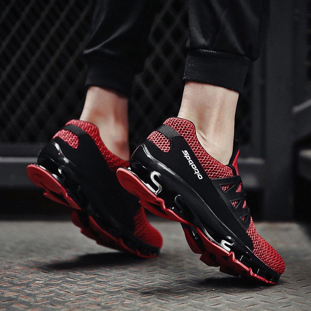 Jodier Zapatillas de Deporte Unisex Adulto Zapatos Deportivos para Mujeres y Hombres de Zapatillas Deportivas Plataforma Cu/ña de Deporte Correr Baloncesto Gimnasio Tenis Aire Libre Tama/ño