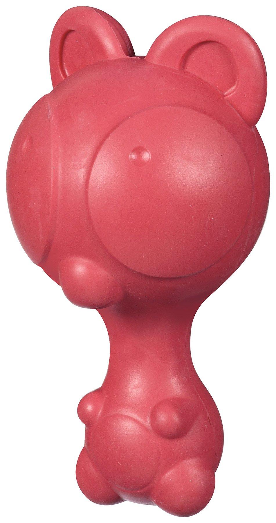 JW Pet Company Ruffians Bear Dog Toy, Medium (Colors Vary)