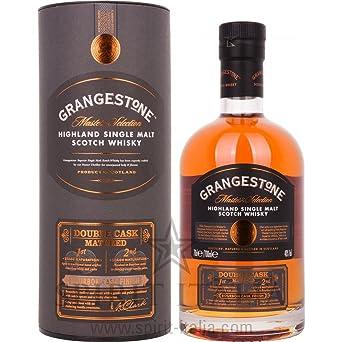 grangestone double cask single malt gb 40 00 0 7 l amazon co uk