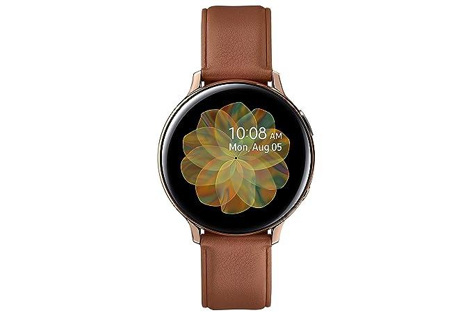 Samsung Galaxy Watch Active 2 - Smartwatch de Acero, 42 conexión ...
