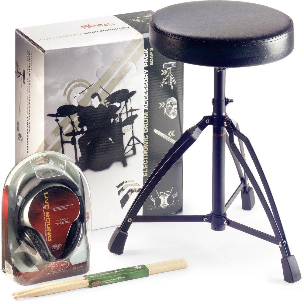 Stagg EDAP 2 Pack d'accessoires pour Tambour électronique 138375