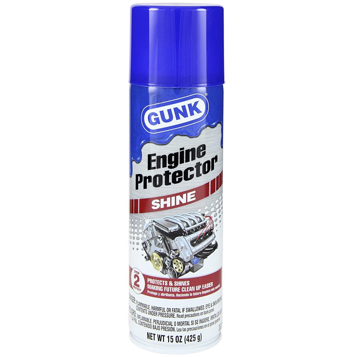 Amazon.com: GUNK CEB1 Engine Shine Protector and Detailer, 15 Oz ...