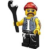 Lego Minifiguras 71001 Motorcycle mechanic