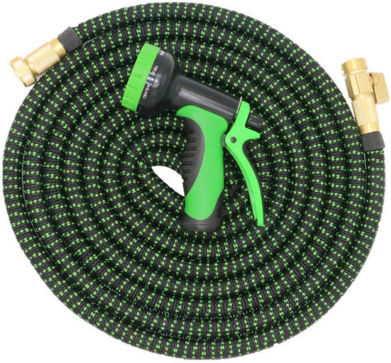 RSRA Garden Hose Flexible Expandable Hose Garden Water Hose Magic Watering Hose Car Washing Hose Pipe With Spray Gun-100ft 50ft