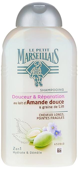 Amazon.com: Le Petit Marseillais Francés, Champú y Almendras ...