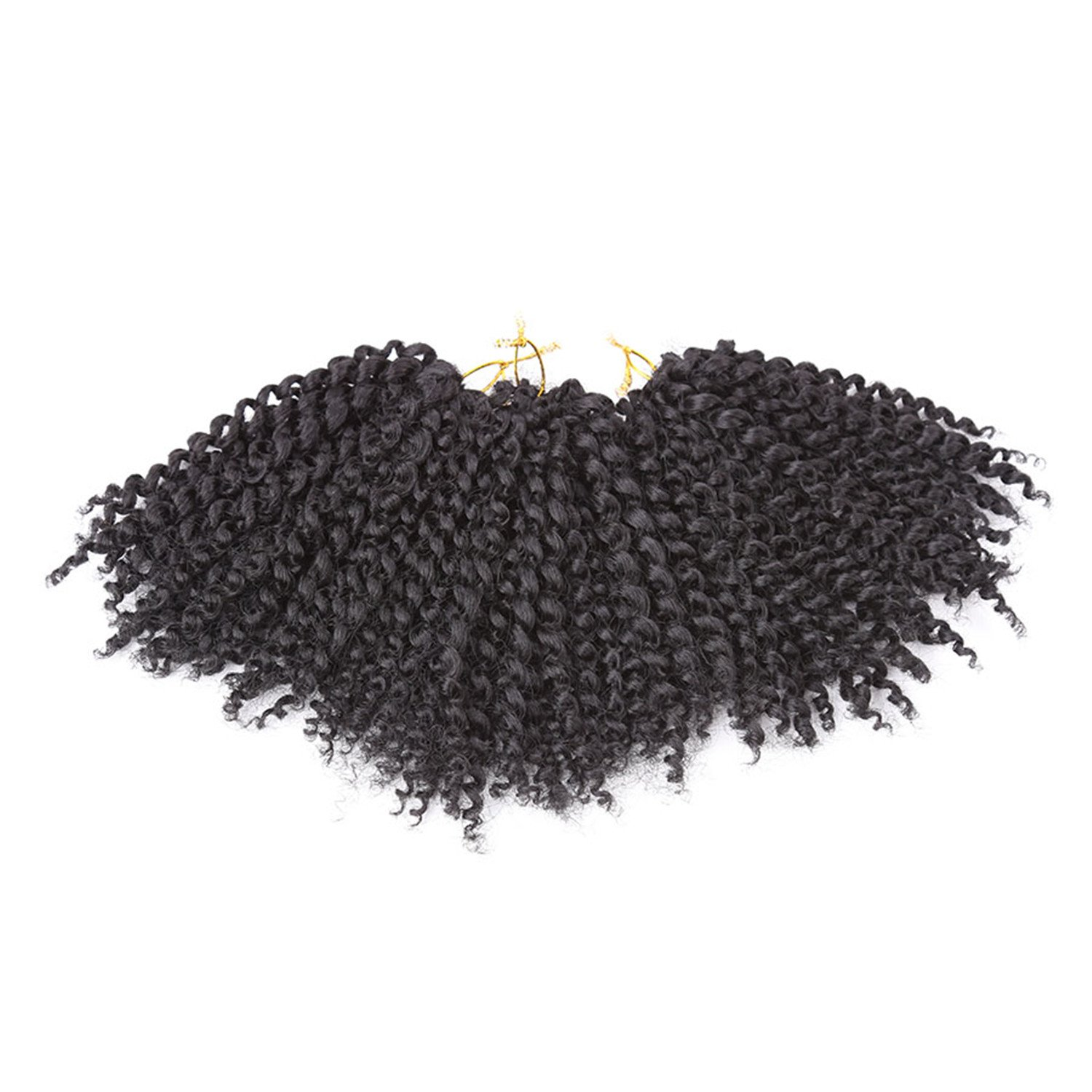 bdc7acf2b6c49 Amazon.com   StrongBeauty 3 Pack Afro American Pretwisted Braids Hair  Extensions Wig For Black Women (1B)   Beauty
