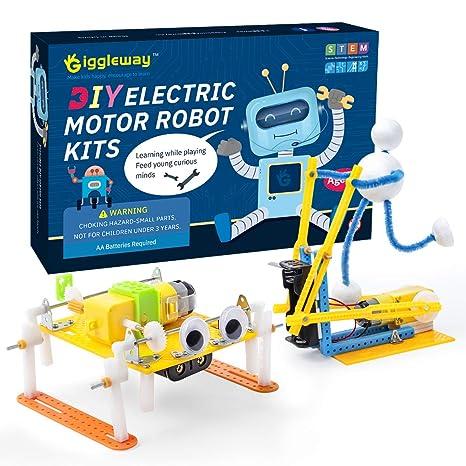 Amazon.com: Giggleway - Kit de ciencia robótica de motor ...