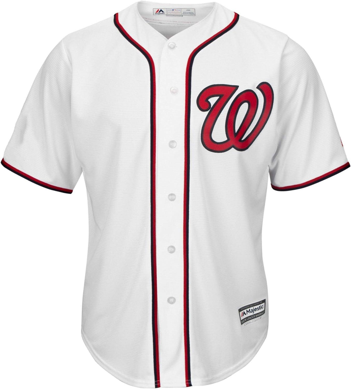 Juan Soto Washington Nationals Youth 8-20 White Home Cool Base Player Jersey