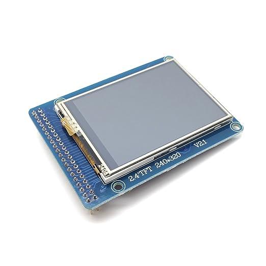 "2 opinioni per AptoFun 2.4"" TFT LCD for Arduino"