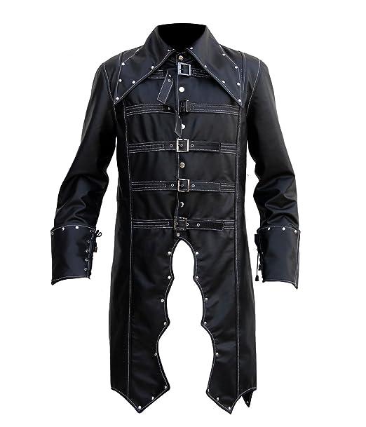 Amazon.com: Estilo Pirata Disfraz piel cosplay chamarra de ...