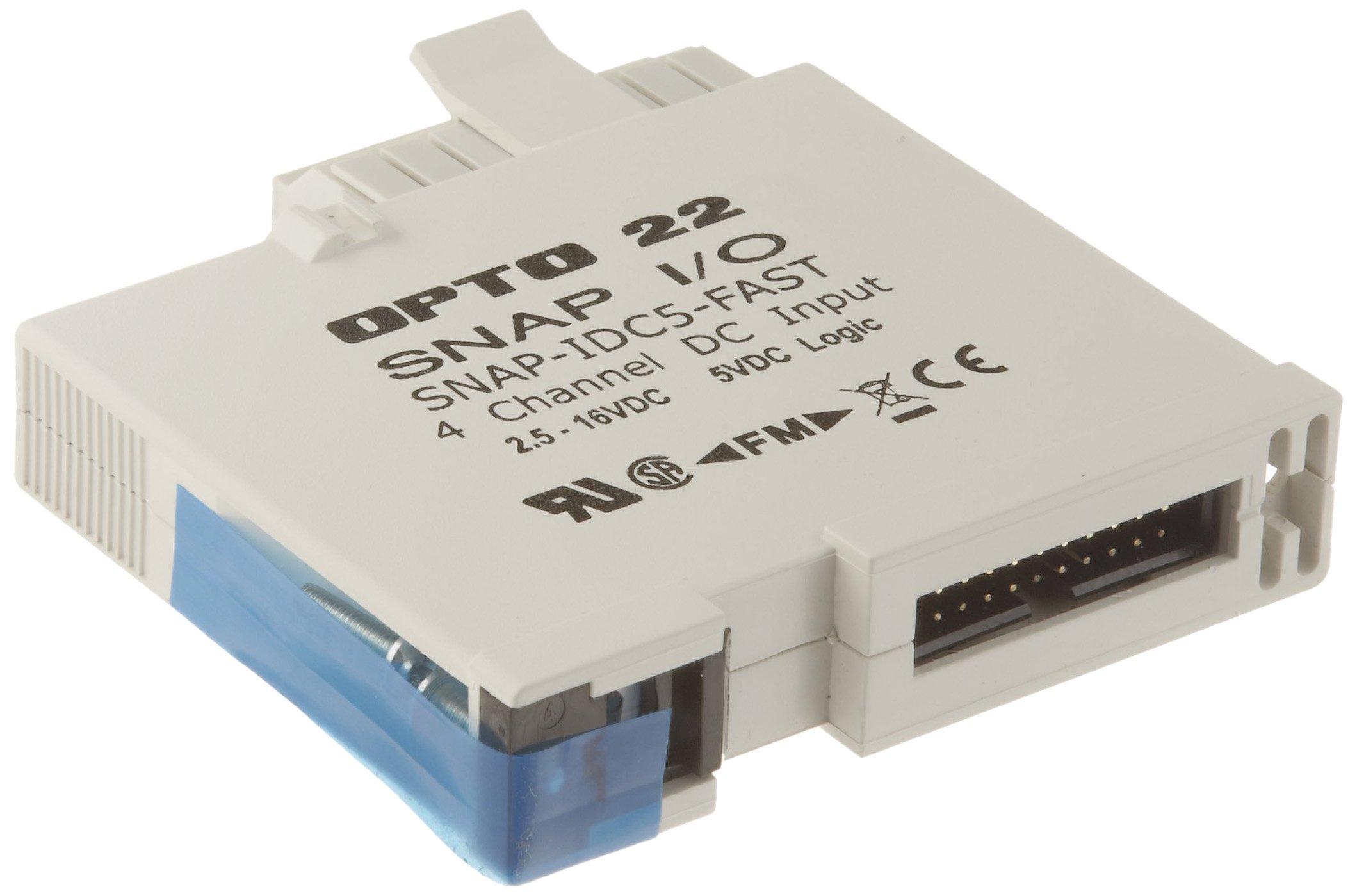 Opto 22 SNAP-IDC5FAST - SNAP High-Speed Digital (Discrete) Input Module, 4-Channel, 2.5 - 16 VDC
