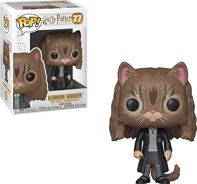 Harry Potter Hermione as a cat Hermione Chat Figurine Pop Funko 77