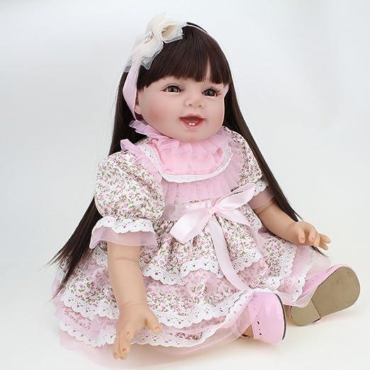 YIHANGG Muñecas Reborn Baby Hecho A Mano Realista De Vinilo De ...