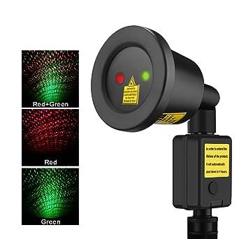 Amazoncom Outdoor Christmas Laser Lights Flight Projector - Bedroom laser lights