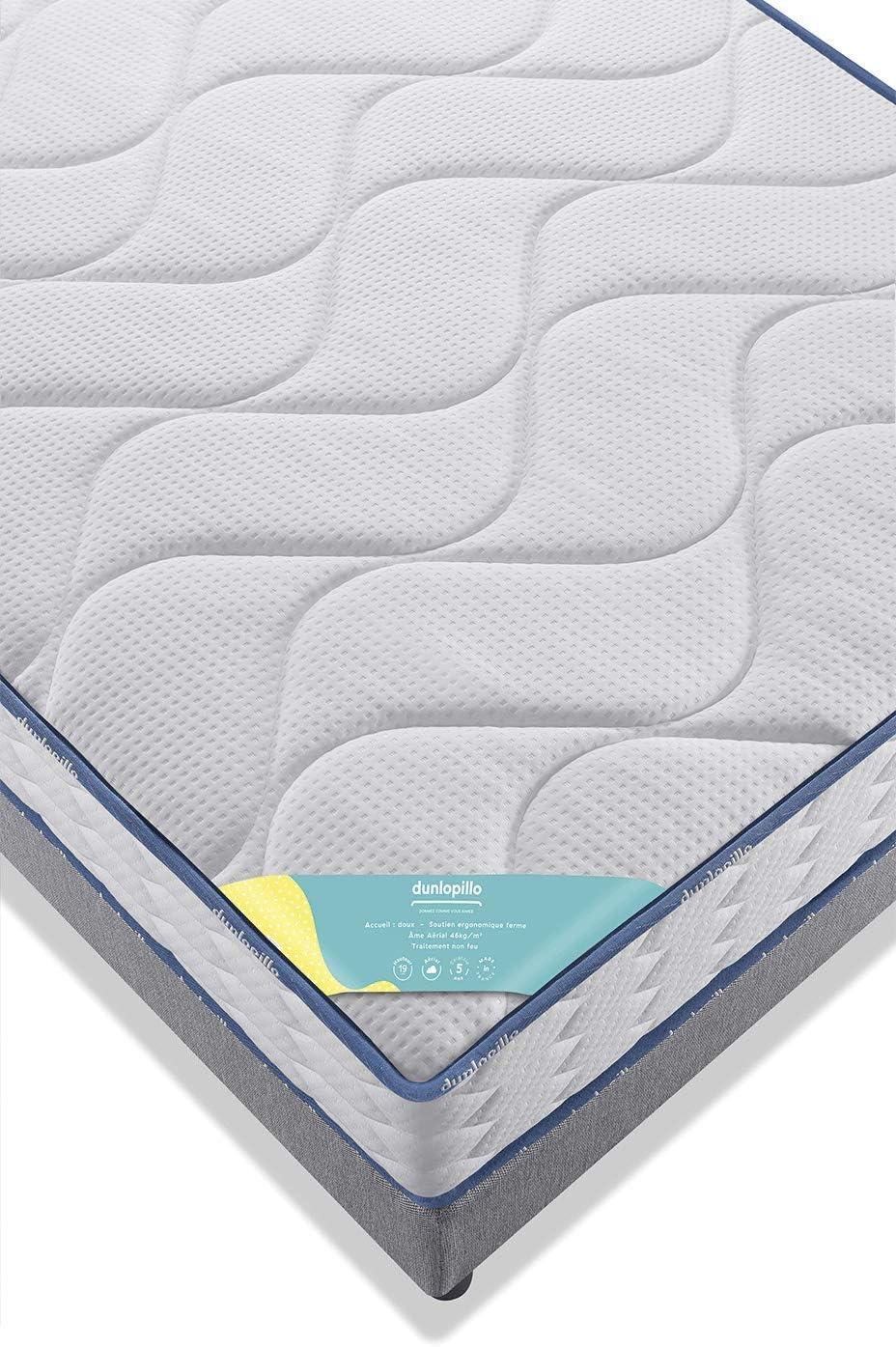 Blanc 90x200 Autres Dunlopillo Fut/ée Matelas Mousse A/érial