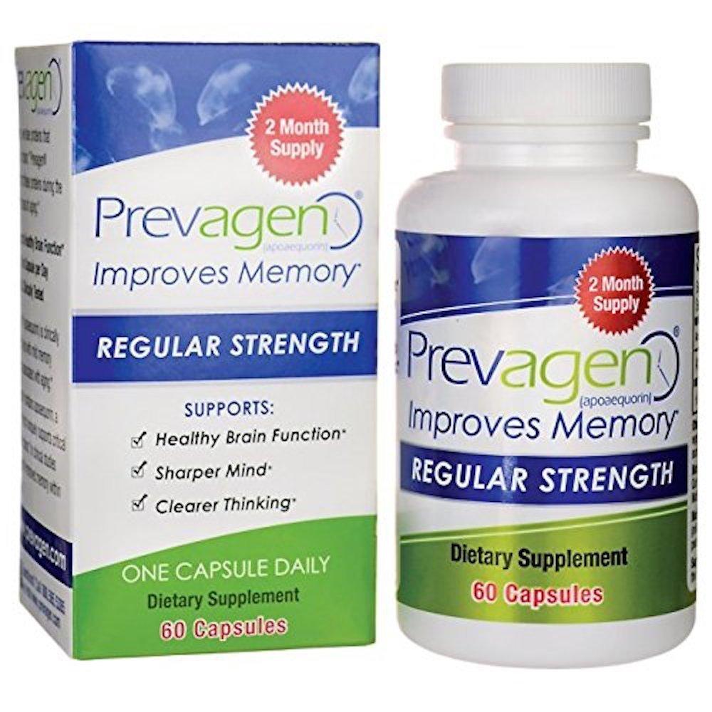 Prevagen Regular (10mg) - 60 Count- 2 pack