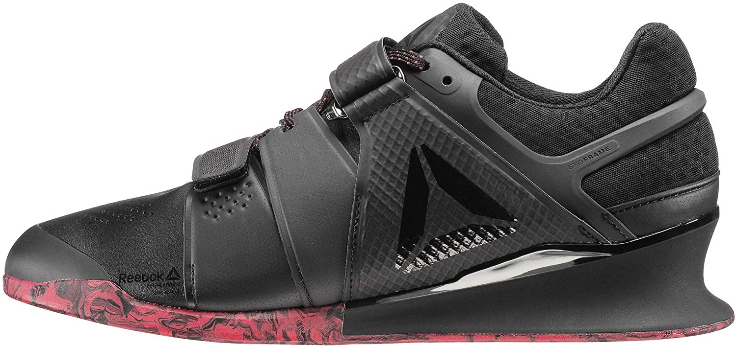 Reebok Legacy Lifter Mens Weightlifting Shoes - Black  Amazon.co.uk  Sports    Outdoors 282580cdf