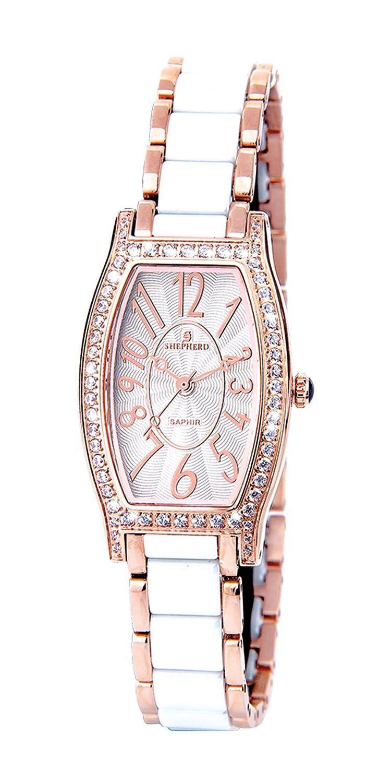 SHEPHERD Keramik Damen Armbanduhr 60401