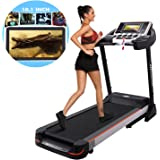 Bellar 10.1 Inch WIFI Large Color Touch Screen 3.0 HP Folding Electric Treadmill