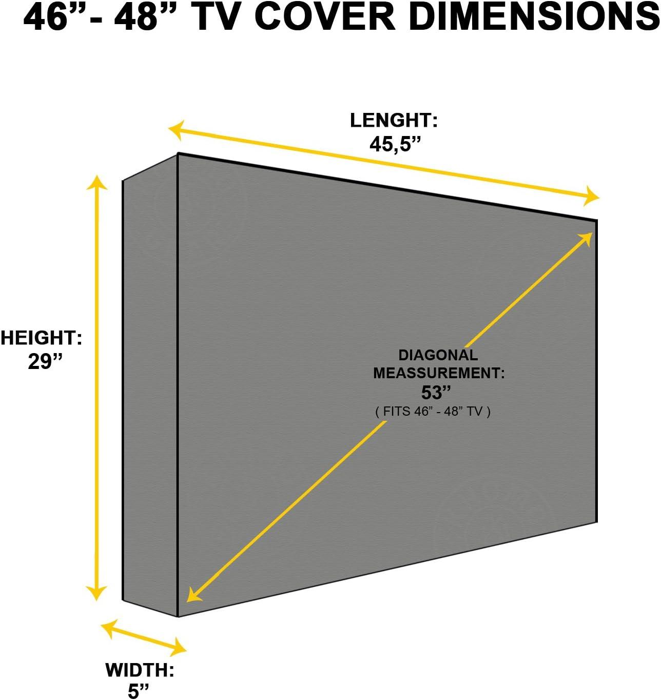 Protector TV Exterior Universal para Televisor de 46
