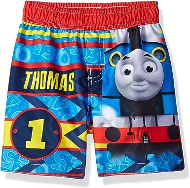 THOMAS THE TRAIN Sz 4T Swim Suit Trunks Shorts Swimsuit TODDLER BOYS ~ NWT