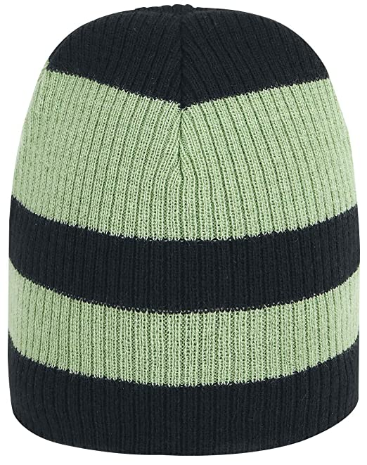 964175f1fb3 Bioworld Men s Rick and Morty Faces Striped Cuffless Beanie