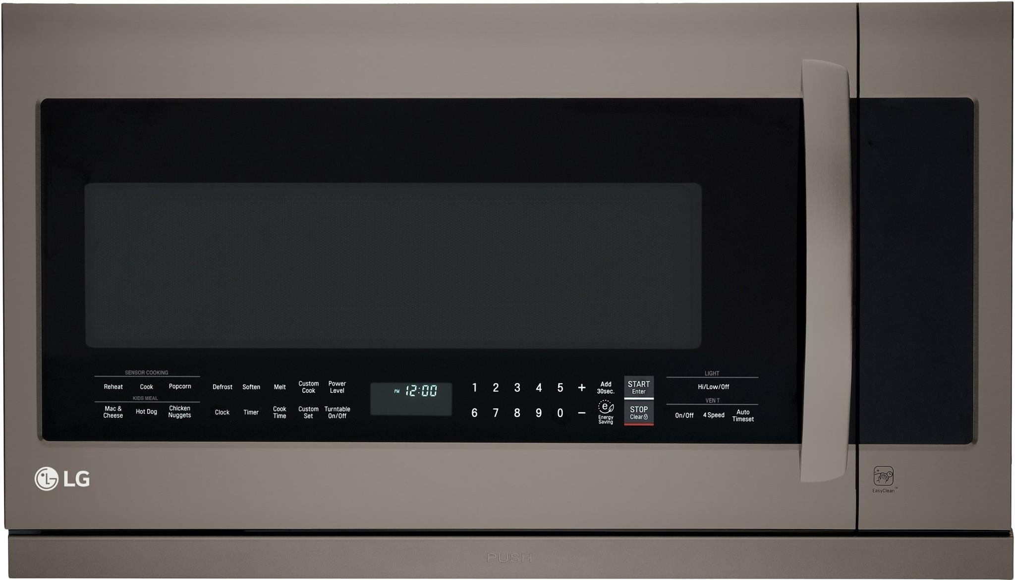LG LMHM2237BD 2.2 cu. ft. Over-the-Range Microwave Oven with EasyClean by LG