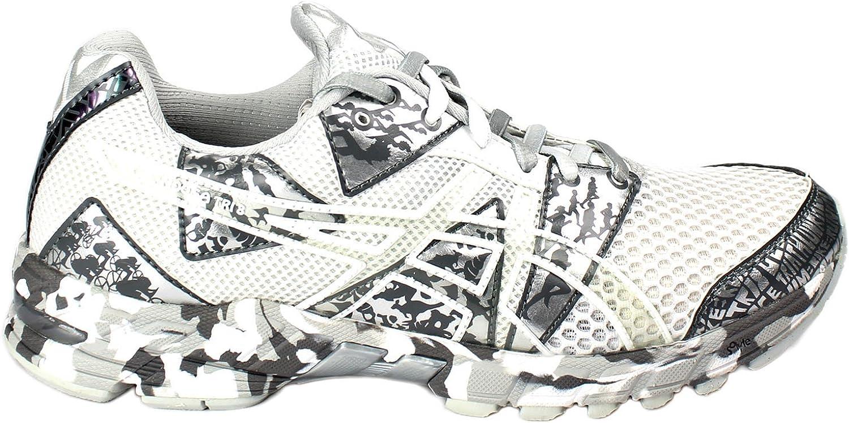 ASICS Gel-Noosa Tri 8 - Zapatillas de Running para Mujer, (White/Silver/Metal), 39.5 EU: Amazon.es: Zapatos y complementos